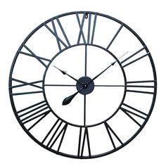Industrial Clocks, Industrial Irons, Vintage Industrial, Wall Clock Art Deco, Giant Wall Clock, Modern Clock, Decoration, Art Decor, Wall Art