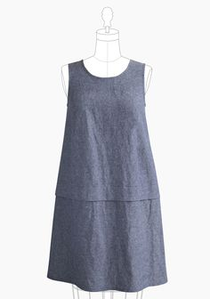 Willow Dress add placket for breastfeeding