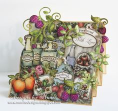 Designs by Marisa: Heartfelt Creations - Preserved with Love Card