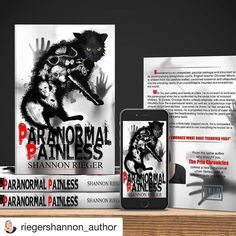New book cover for @riegershannon_author  book Paranormal Painless- releasing in march!! @riegershannon_author with @repostapp  DRUM ROLL PLEASE.... BOOK COVER REVEAL  Paranormal Painless  Designed by @drop.dead.design  Launch date: March 2017  Book Blurb:  Bewildered by an unexpected peculiar package and disturbed by its accompanying antagonistic spirits English teacher Christian Moore is shaken from his carefully crafted cocooned existence and catapulted into the shocking reality of an…