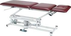 """Armedica™ Tables feature full height adjustment and section mobility for proper positioning with minimum effort. 1-1⁄2"""" firm-density foam top upholstered with radiused, seamless, heavy-duty vinyl with Permablok3® bacterial protection."""