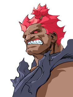 View an image titled 'Akuma Art' in our Street Fighter Alpha 3 art gallery featuring official character designs, concept art, and promo pictures. Akuma Street Fighter, Street Fighter Alpha 3, Street Fighter Characters, 3 Characters, Alpha Art, Character Art, Character Design, 3 Arts, Arte Pop