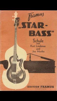 Framus Star Bass #bestbassguitar Guitar Shop, Cool Guitar, Retro Ads, Vintage Advertisements, Star Wars, Bass Amps, Double Bass, Ibanez, Old Ads