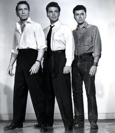 Richard Conte, James Darren, Paul Picerni - The Brothers Rico (1957)