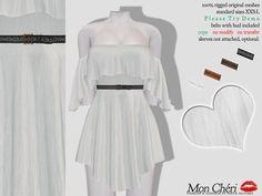 Mon Cheri - Sachi Flare Dress in Milk