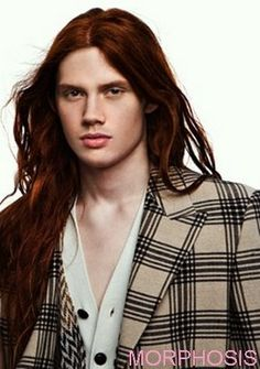 Another guy with red hair who doesn't really look like Toly but has long red hair haha