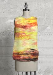 A beautiful and unique sleeveless top that is perfect for your collection! Shop artistic sleeveless top's created by designers all around the world. Vida Design, Dog Days, High Low, Dress Up, Fashion Design, Beautiful, Costume