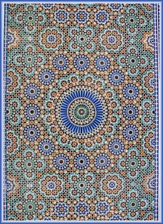 Absolutely beautiful Islamic art and design Motif Oriental, Style Oriental, Islamic Art Pattern, Arabic Pattern, Tile Patterns, Pattern Art, Morrocan Patterns, Zentangle Patterns, Tile Art