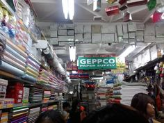 Geppco is a new discovery for me. It is also in the Tabora area. This store sells different kinds of specialty papers! Nakakalula for a paper-lover like me. And the price---definitely cheap! Diy Crafts Store, Art Craft Store, Dollar Store Crafts, Craft Stores, Paper Suppliers, Craft Images, Craft Desk, Diy Shops, Coffee Crafts