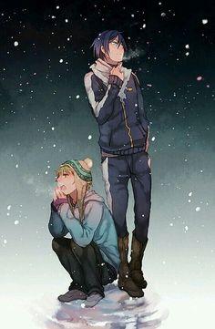 Norigami   Yato and Yukine
