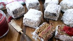 #Vegan Lamingtons