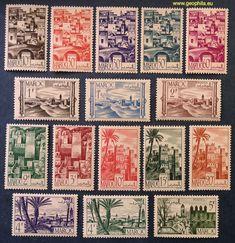 Maroc Français (Morrocco, Maroko) YT avec et * Stamp, France, Gift Vouchers, Journals, Quilts, Blanket, Rare Stamps, Morocco, Stamps