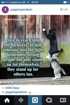 Stand up for yourself & others.