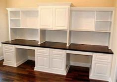 Simple And Useful Home Office Cabinet Design Ideas Simple And Useful Home Office Cabinet Storage Furniture, Craft Room Office, Built In Desk, Office Cabinets, Home Office Cabinets, Home, Office Crafts, Office Furniture, Office Cabinet Design