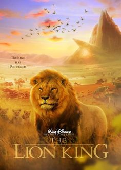 Apparently there is going to be a live-action Lion King remake (Poster is fan made)