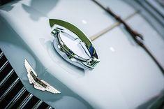 1939 Aston Martin 15-98 Abbey Coachworks Swb Sports Grille Emblem- Car Images by Jill Reger