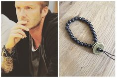 Get the look ~ David Beckham Hematite lucky coins  https://crystal-harmony.myshopify.com/products/hematite-crystals