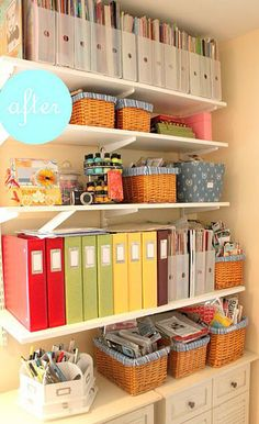 Simple Office Organization Ideas for A Develop Office : Office Organization Ideas Efficiency LaurieFlower 011