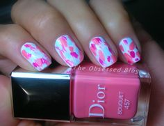 Dior Vernis S14 Trianon Abstract Nail Art