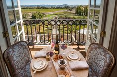 A Taste of France in Napa Valley - Domaine Carneros #VisitNapaValley