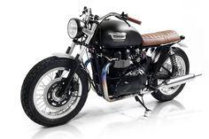 Custom Triumph T100 | ... posts triumph bonneville rivale by roberto rossi triumph bonneville