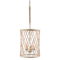 Bring a touch of rustic charm to your home decor with the elegant Mica chandelier ceiling lamp, highlighting a gorgeous twine, beige and rust finish. This five-light fixture is sure to update any living space. Lighting Store, Home Lighting, Chandelier Lighting, Chandeliers, Cage, Ceiling Lamp, Ceiling Lights, Urban, Dot And Bo