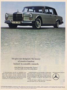 1966 Mercedes Benz Ad
