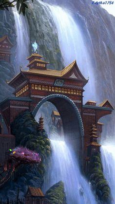 Shifen Waterfall ~gif