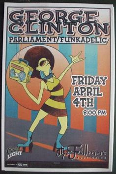 Original concert poster from the Fillmore in Denver, Colorado. 4/4/03. 11x17 thin paper.