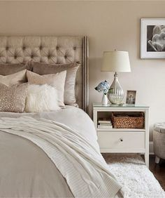 Silvery taupes and cream.   South Shore Decorating Blog: 50 Favorite For Friday #145 - Classically Elegant Traditional Rooms