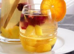 White Wine Sangria with Pineapple Juice Today's Free