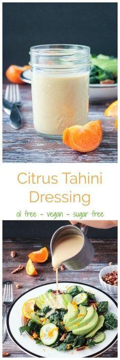 Citrus Tahini Dressing
