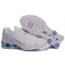 premium selection 42073 a93e2 Buy Women s Nike Shox Shoes White Light Blue Brilliant Silver Online from  Reliable Women s Nike Shox Shoes White Light Blue Brilliant Silver Online  ...