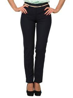 Park Avenue Blue Women Trouser