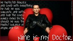 Nine is my Doctor