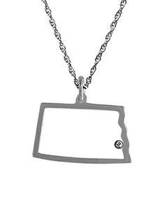 Maya Brenner North Dakota Pendant Necklace