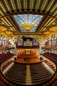 Palau de la musica Catalana, Barcelona, Catalonia, Spain. http://www.suntransfers.com/barcelona-airport-to-barcelona-city-all-areas