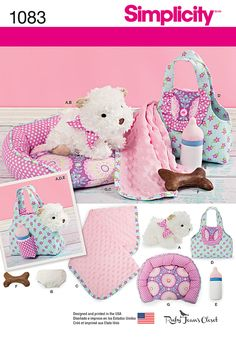 Simplicity Creative Group - Stuffed Puppy & Accessories