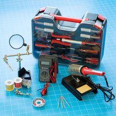 Make:it Deluxe Electronics Tool Kit