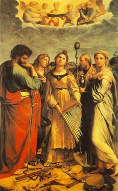 Santa Cecília  #art #rafael #sanzio #renascimento