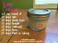 Sleepy blend with young living oils