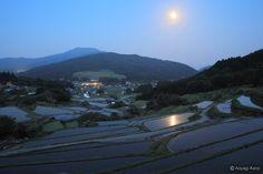 「田毎の月」という日本人の心象風景:『一心一写』 放浪の写真家、青柳健二の旅写真ブログ