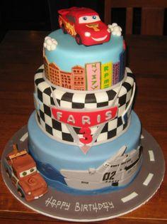 cake03 Kids themed cakes boys Pinterest Birthday cakes