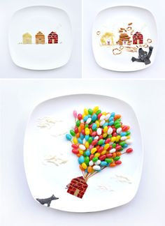Three Little Pigs plate art | 12 Delicious Dishes that Double as Modern Art