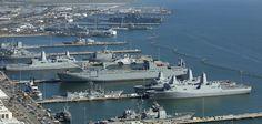 팬저의 국방여행 : 미 해군기지 사진으로 살펴보기