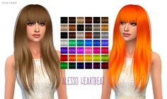 Nessa sims: Alesso Heartbeat hairstyle retextured  - Sims 4 Hairs - http://sims4hairs.com/nessa-sims-alesso-heartbeat-hairstyle-retextured/