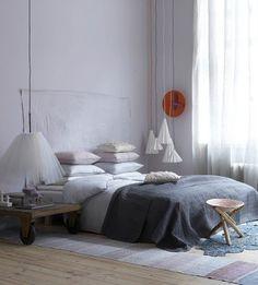 slaapkamers beige met grijs - Google zoeken