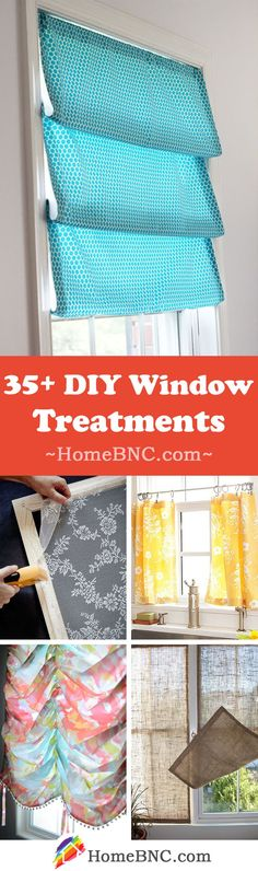 Simple Bedroom Window Treatments Beautiful 35 Best Diy Window Treatment Ideas and Desings for 2020 Cheap Window Treatments, Bathroom Window Treatments, Window Coverings, Sunroom Windows, Small Windows, Diy Windows, Cheap Windows, Cheap Home Decor, Diy Home Decor