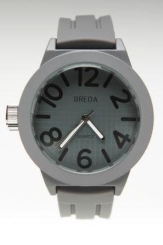 JackThreads - Jaxon Watch Grey
