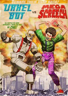 Epic nerd fight!